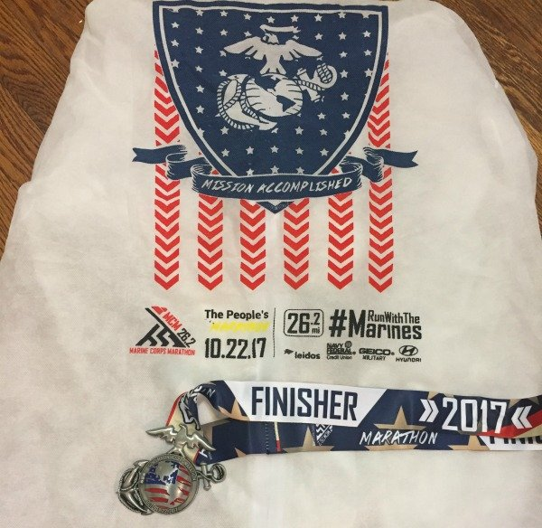 Marine Corps Marathon 2017 jacket