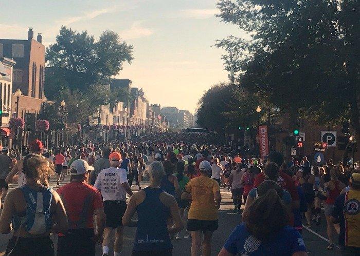 Marine Corps Marathon 2017 georgetown