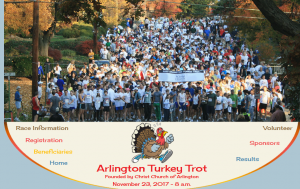 Thanksgiving Day Turkey Trots in the DC area