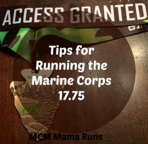 Tips for running the Marine Corps 17.75