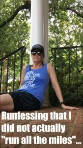 Dear Running: I'd really like to become friends again