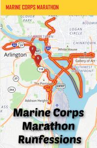 Marine Corps Marathon Runfessions