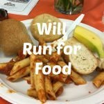 Will run for food!