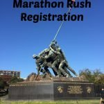 Registering during Marine Corps Marathon Rush Registration