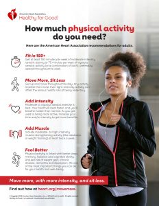 Move More, Sit Less: Keeping your heart healthy with exercise